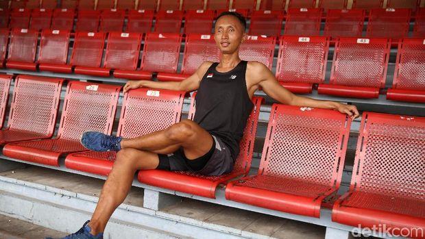 Abdul Halim: Dulu Tukang Pijat, Sekarang Sprinter Jagoan Indonesia