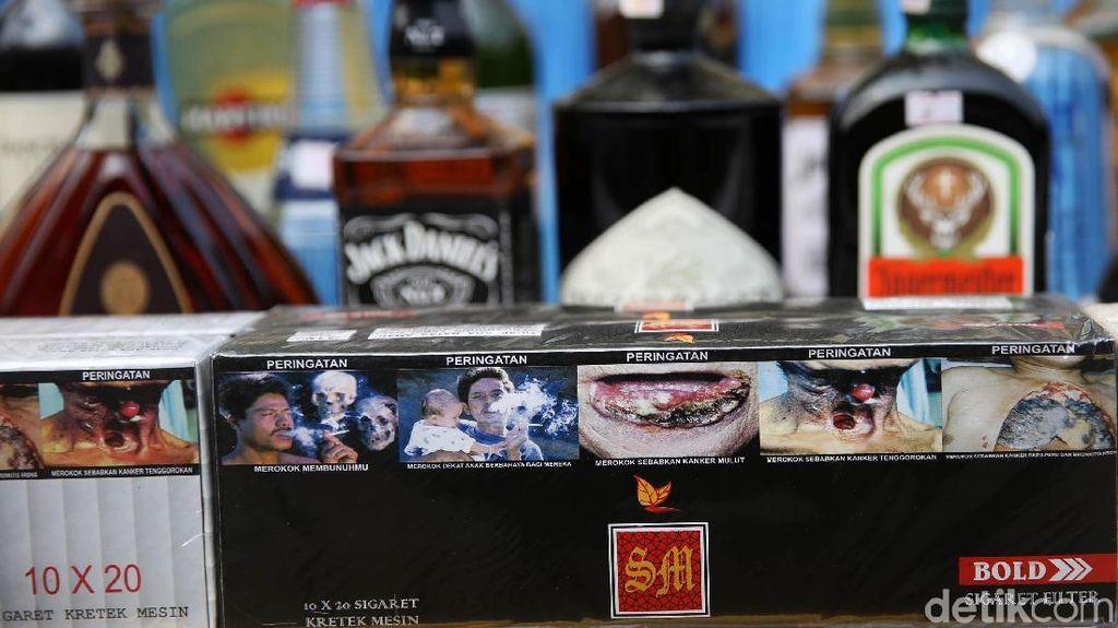 Bea Cukai Gagalkan Peredaran Rokok dan Miras Ilegal di 3 Daerah Ini