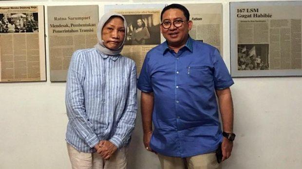 Ratna Sarumpaet Tak Masalah 'Ditinggal' Fadli Zon cs