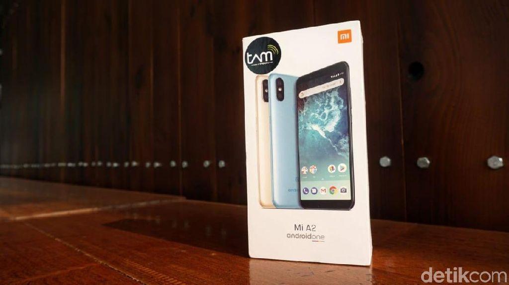 Unboxing Xiaomi Mi A2, Si Android One Generasi Kedua