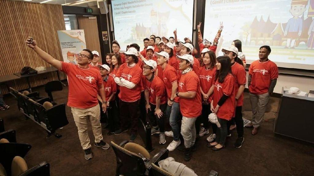 GenWI Australia Siap Ngegas Viralkan Pariwisata Indonesia