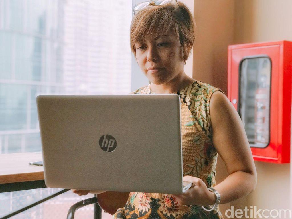 HP Joy 2 hadir dengan sejumlah pembaruan. Foto: Adi Fida Rahman/detikinet