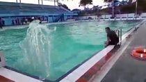 Cerita Penjaga soal Ombak Aneh di Kolam Renang saat Gempa Sulteng