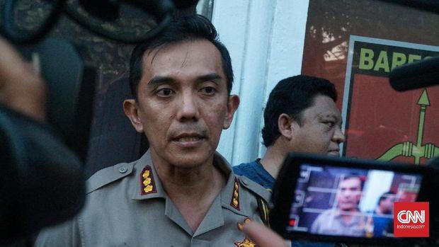 Kapolrestabes Kombes Irman Sugema.
