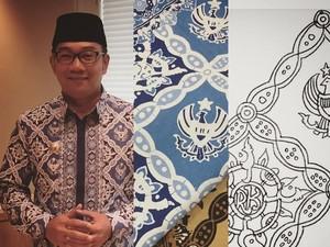 Ini Batik Motif Garuda Kujang Kencana Buatan Ridwan Kamil
