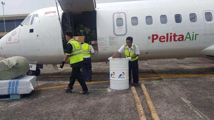 SPBU Portabel tersebut nantinya akan dioperasikan di SPBU yang tidak dapat beroperasi di Palu karena bencana dengan mengerahkan operator yang dikirim dari berbagai daerah. Dok. Pertamina.