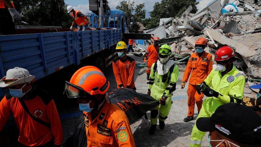 Penanganan Gempa-Tsunami Sulteng dalam Angka