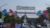 GBK Mulai Bersolek untuk Sambut Asian Para Games 2018