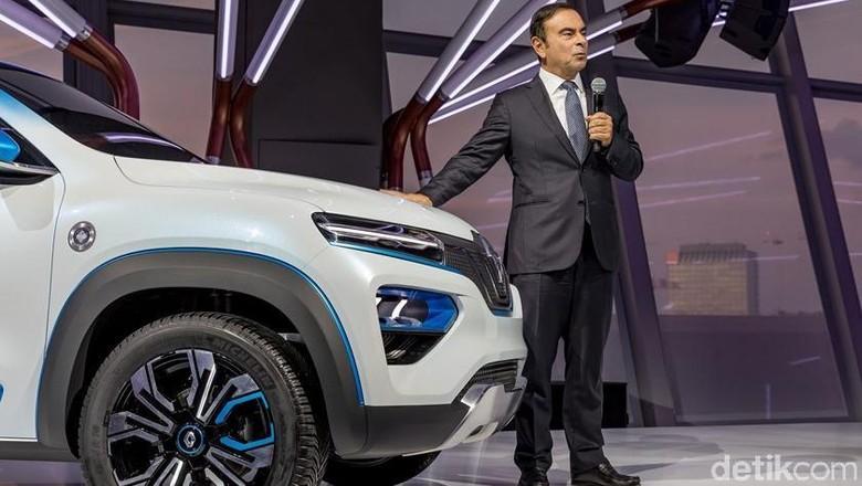 Renaut K-ZE dan Carlos Ghosn Foto: Renault