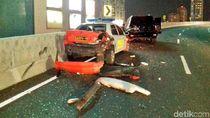 Ini Penampakan Mobil Marko Simic yang Tabrak Kendaraan Polisi