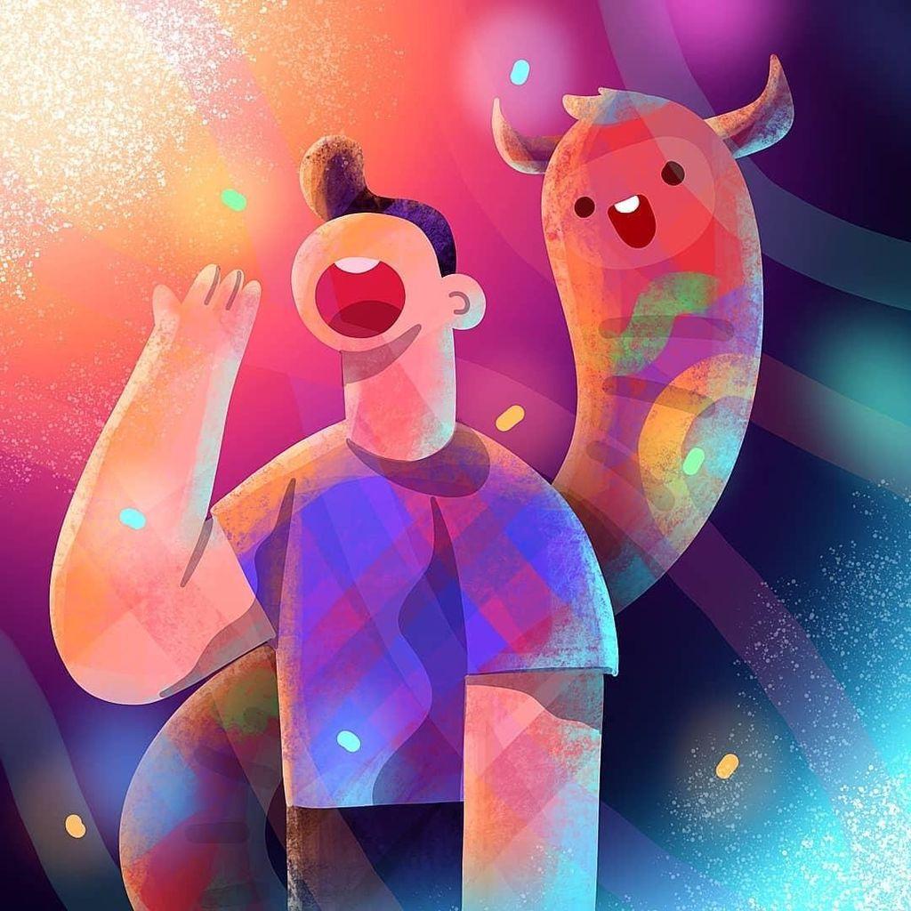 Ilustrator Migunani Kerap Dikritik karena Gambar Obyek Manusia
