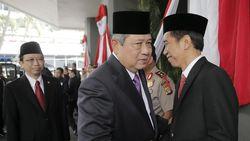 Pajang Foto Jokowi Rangkul SBY, PD: Selamat Ulang Tahun Presiden!