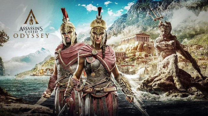 Assassins Creed Odyssey dipakai Google untuk menguji layanan streaming game (Foto: Dok. Ubisoft)