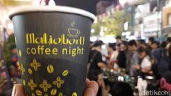 26 Ribu Cup Kopi Dibagikan Gratis di Malioboro Coffee Night