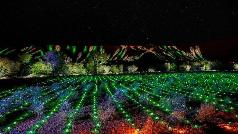 Festival Cahaya Australia  (Parrtjima Australia)