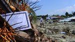 Reruntuhan Desa di Sigi yang Terseret Lumpur