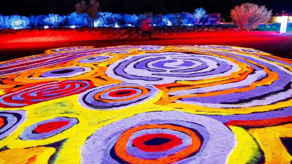 Foto: Gemerlap Festival Cahaya di Australia