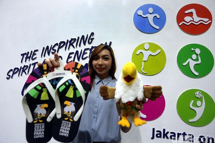 Begini penampakan salah satu souvenir Asian Para Games 2018.