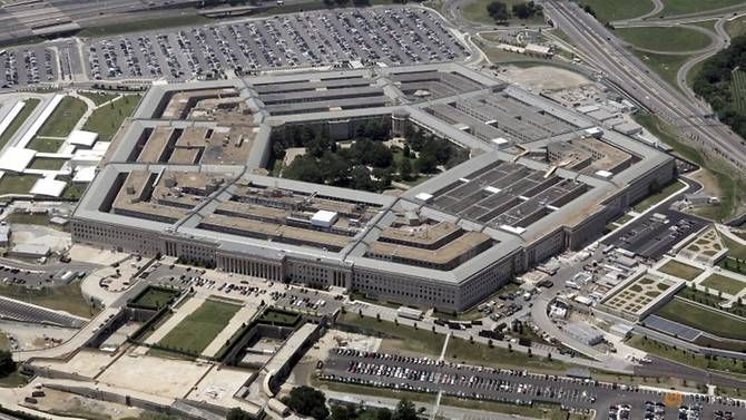 An aerial view of the Pentagon building in Washington, DC. (REUTERS/Jason Reed)Read more at https://www.channelnewsasia.com/news/world/ricin-suspected-in-mail-sent-to-white-house-pentagon-10784742