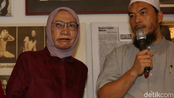 Ratna Sarumpaet mengaku menjalani prosedur operasi plastik (Foto: Agung Pambudhy)