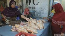 Harga Daging Ayam dan Telur di Jombang Mahal Dikeluhkan Pedagang
