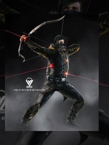 Fans Buat Concept Art Jeremy Renner sebagai Ronin