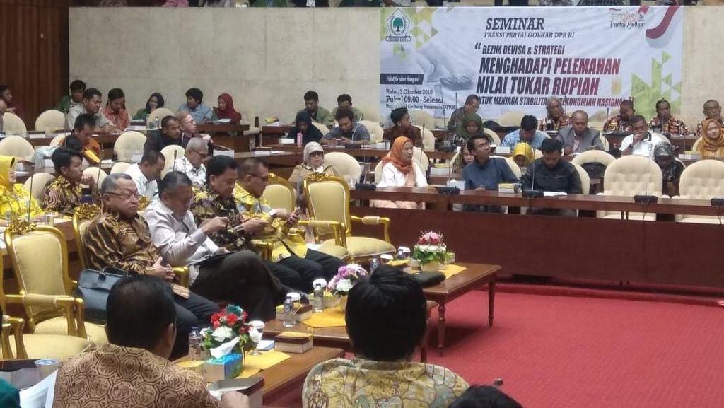 Gubernur BI Hingga Rizal Ramli Kumpul Bahas Pelemahan Rupiah
