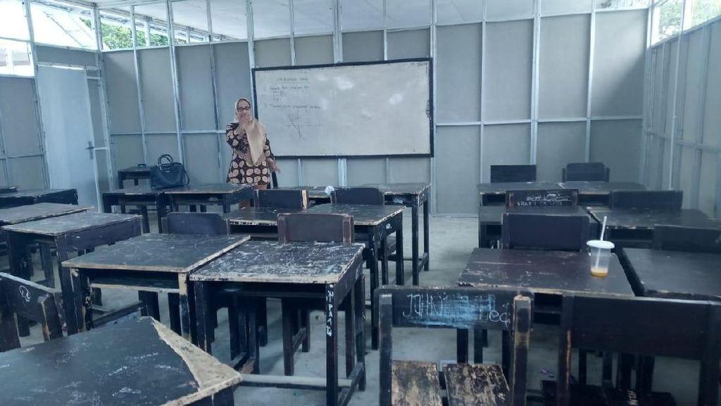 KPAI: Sekolah Darurat di Lombok Butuh Lebih Banyak Toilet dan Kipas