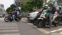 6.896 Pengendara Ditilang di Hari Pertama Operasi Zebra Jaya 2018
