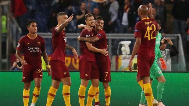 AS Roma bertekad meraih kemenangan kandang kandang atas Porto. (