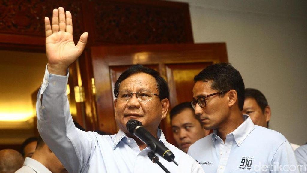 Kontroversi Prabowo Teriak Pemerintah Ugal-ugalan