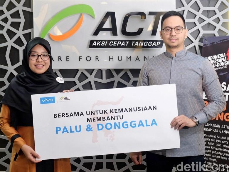 Gandeng ACT, Vivo Salurkan Bantuan Rp 4 Miliar untuk Korban Gempa