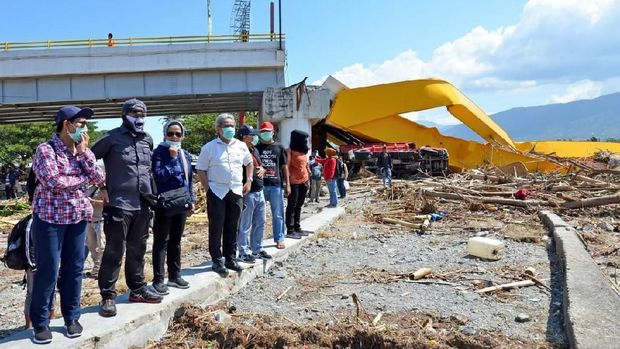 Susi Buka Posko Bantuan Gempa Palu di Titik Ini