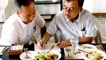 Intip Momen Kulineran Mensos Bersama Wapres hingga Korban Gempa Lombok