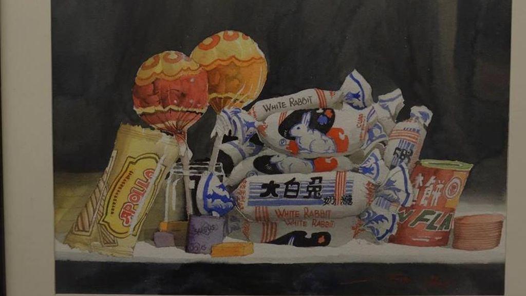 Karena Lukis Makanan, Seniman Ini Berhasil Turunkan Bobot Hingga 30 Kg!