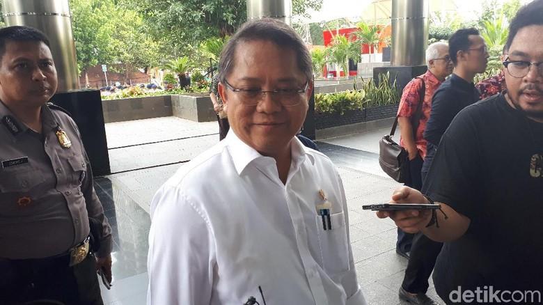 Menkominfo Datang ke KPK Rapat soal Barang Bukti Elektronik