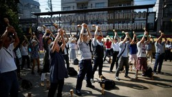 Jepang menjadi salah satu negara paling jompo sedunia. Lebih dari 28 persen populasi Jepang adalah lansia alias sudah berusia di atas 65 tahun.