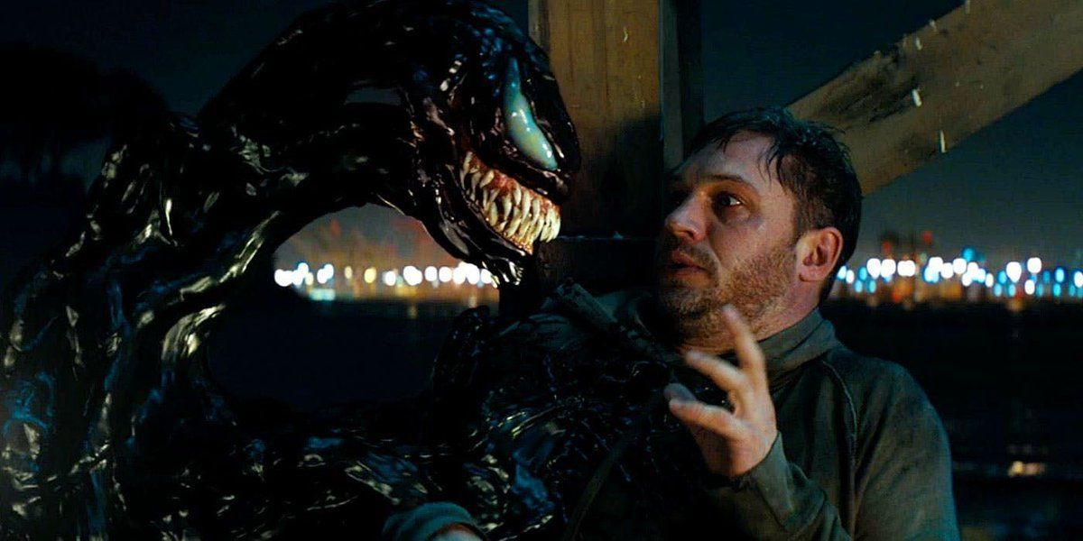 Foto official film Venom.