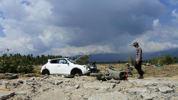 Desa di Sigi yang terkena gempa (topik/detikcom)