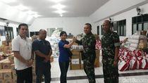 CT Arsa dan Transmart Serahkan Bantuan ke Korban Gempa Palu