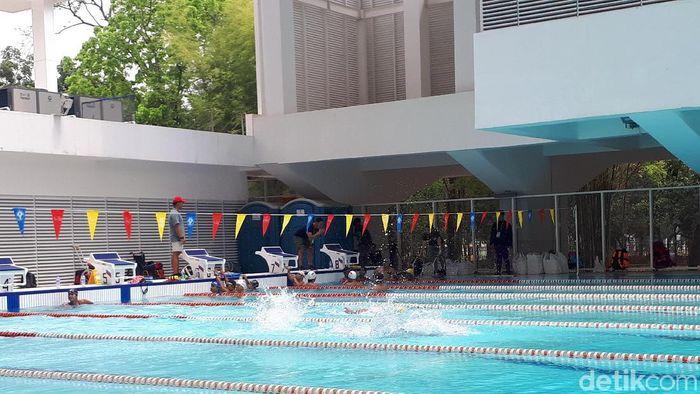 Para renang akan dipertandingkan di Asian Para Games 2018, Jumat (12/10/2018). (Foto: Mercy Raya/detikSport)