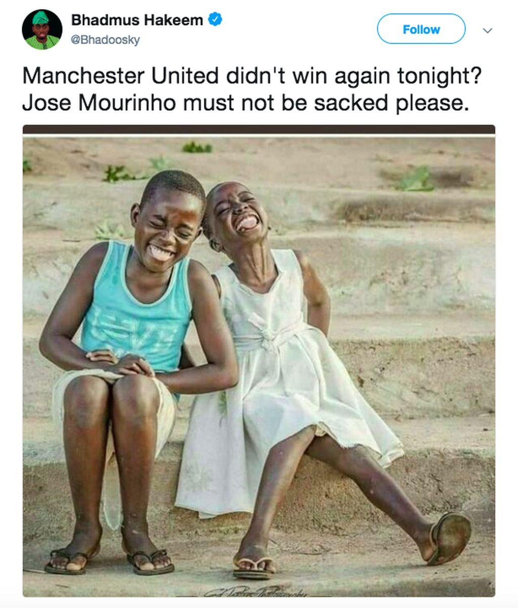 Manchestere United gagal menang lagi? Please, jangan pecat Mourinho. Foto: istimewa