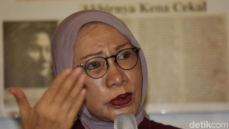 Pengakuan dan Pembelaan Ratna Sarumpaet Saat Ditangkap karena Hoax