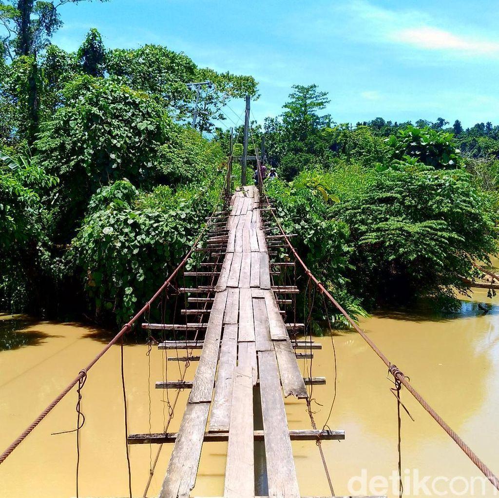 Jokowi Kurangi Jumlah Jembatan Indiana Jones dalam 4 Tahun