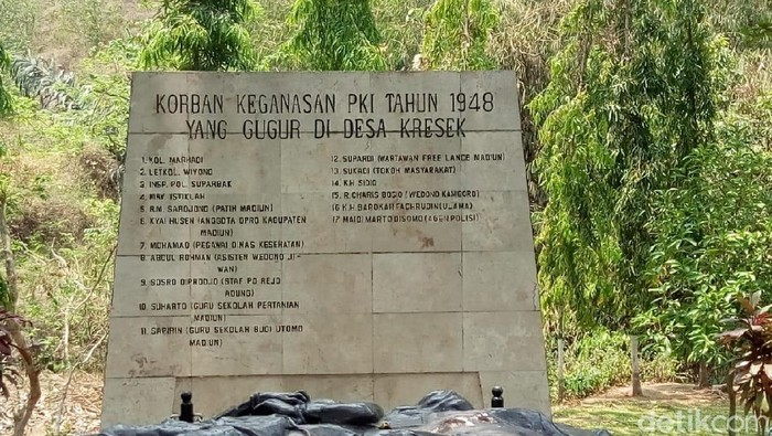 monumen kresek di madiun