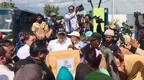 Ketua DPR Bagikan 1.000 Paket Sembako untuk Korban Gempa Sulteng