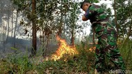 Heli Water Bombing Setop Operasi, Karhutla di Sumsel Meningkat