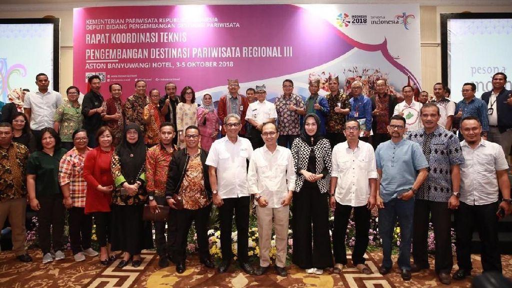 Kemenpar Ajak Kadis Pariwisata Indonesia Timur Tiru Sukses Banyuwangi