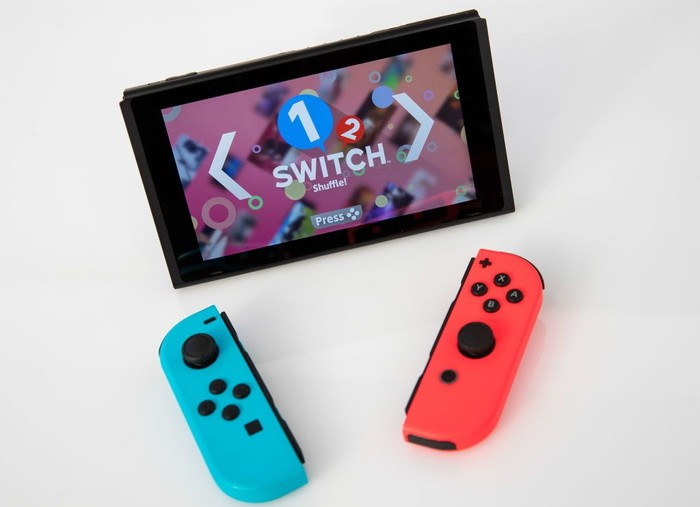 Nintendo Switch. Foto: Drew Angerer/Getty Images