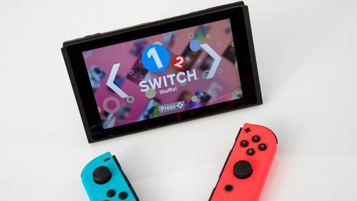 Nintendo Switch akhirnya kebagian platform YouTube di dalamnya. Foto: Drew Angerer/Getty Images